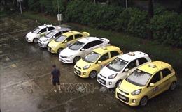 Làm rõ sai phạm của nhóm tài xế taxi 'dù' tranh khách trước cổng bệnh viện