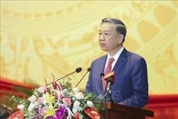 Đồng chí Tô Lâm dự, chỉ đạo Đại hội đại biểu Đảng bộ tỉnh Điện Biên lần thứ XIV