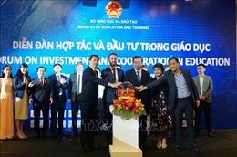 Thúc đẩy hợp tác, đầu tư lĩnh vực giáo dục