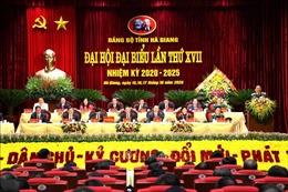 Khai mạc Đại hội Đảng bộ tỉnh Hà Giang lần thứ XVII