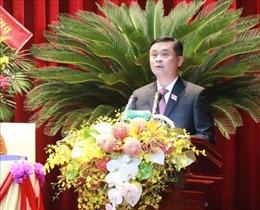 Đồng chí Thái Thanh Quý được bầu lại làm Bí thư Tỉnh ủy Nghệ An nhiệm kỳ 2020 - 2025