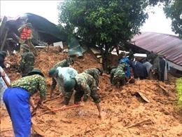 Hiện trường vụ sạt lở đặc biệt nghiêm trọng vùi lấp 22 cán bộ, chiến sĩ tại Quảng Trị