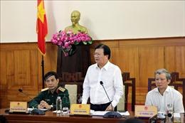 Phó Thủ tướng: Chủ động ứng phó, tiếp tục rà soát khu vực nguy hiểm để sơ tán dân