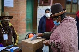 Ứng cử viên đảng MAS giành chiến thắng ngay tại vòng 1 bầu cử Bolivia