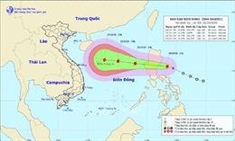 Theo dõi chặt diễn biến của bão Saudel trên biển Đông