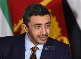 UAE đề nghị mở Đại sứ quán tại Israel