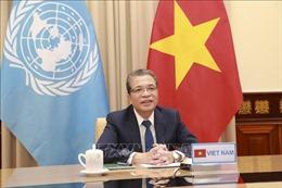 Việt Nam kêu gọi quốc tế hỗ trợ người dân Palestine vượt qua khủng hoảng