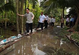 Hậu Giang chủ động phòng tránh, khắc phục thiệt hại do mưa bão, triều cường