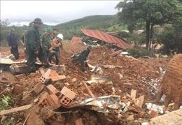 Nghệ An đề nghị Bộ Tư lệnh Quân khu 4 hỗ trợ lực lượng khắc phục hậu quả mưa lũ