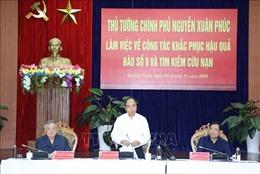 Thủ tướng Nguyễn Xuân Phúc: 'Có tiền đến đâu, hỗ trợ nhanh người dân đến đó'
