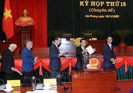 Bầu bổ sung hai Phó Chủ tịch UBND thành phố Hải Phòng