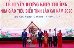 UBND tỉnh Lào Cai tuyên dương 230 nhà giáo tiêu biểu, xuất sắc