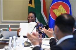 Nam Phi ký kết văn kiện gia nhập Hiệp ước Thân thiện và Hợp tác ở Đông Nam Á