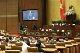 Thông cáo báo chí số 16, Kỳ họp thứ 10, Quốc hội khóa XIV