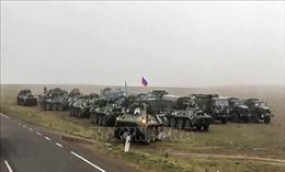 Nga điều động thêm 18 máy bay vận tải chở các binh sĩ gìn giữ hòa bình tới Armenia
