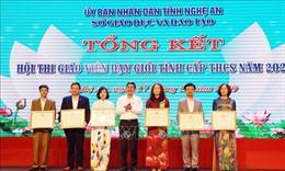 380 giáo viên THCS ở Nghệ An đạt danh hiệu Giáo viên dạy giỏi cấp tỉnh