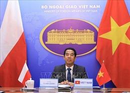 Tham khảo chính trị cấp Thứ trưởng Ngoại giao Việt Nam - Ba Lan theo hình thức trực tuyến
