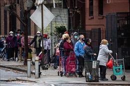 Ca mắc COVID-19 tăng mạnh, Mỹ khuyến cáo 'không di chuyển trong dịp lễ Tạ ơn'