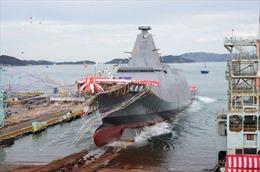 Nhật Bản ra mắt tàu chiến tối tân mới