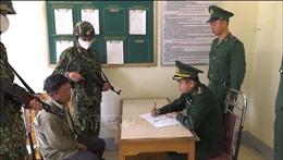 Biên phòng Lào Cai bắt hai đối tượng mua bán 6.000 viên ma túy tổng hợp