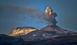 Núi lửa Sabancaya ở Peru 'thức giấc'