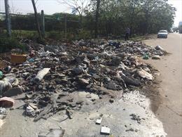 Ngăn chặn nạn đổ trộm phế thải, đảm bảo mỹ quan đô thị ở Hà Nội