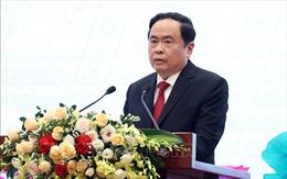 Chủ tịch Ủy ban Trung ương MTTQ Việt Nam gửi điện mừng Quốc khánh Lào