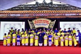 Thừa Thiên - Huế lần đầu tuyên dương 'Học sinh Danh dự toàn trường'
