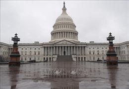 Mỹ phong tỏa trụ sở Quốc hội để đối phó với biểu tình