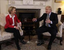 Anh và EU ấn định thời hạn chốt đàm phán thương mại