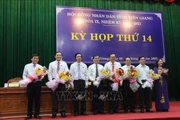 Tiền Giang bầu Chủ tịch và các Phó Chủ tịch UBND tỉnh nhiệm kỳ 2016 – 2021