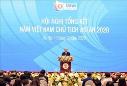 Thủ tướng Nguyễn Xuân Phúc dự Hội nghị tổng kết năm Việt Nam Chủ tịch ASEAN 2020