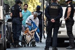 4 cảnh sát Hy Lạp bị truy tố vì hành hung người tị nạn