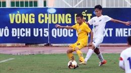 8 đội bóng tham dự VCK Giải Bóng đá U15 Cúp quốc gia 2020