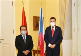 Nâng tầm quan hệ hữu nghị truyền thống và hợp tác toàn diện Việt Nam - Séc