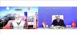 Hội đàm trực tuyến giữa Thủ tướng Nguyễn Xuân Phúc và Thủ tướng Ấn Độ