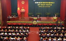 Hội đồng nhân dân thành phố Hải Phòng thông qua 26 Nghị quyết quan trọng