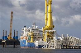 Hoàn tất lắp đặt đường ống Dòng chảy phương Bắc 2 trong lãnh hải Đức