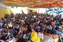 Hải quân Libya giải cứu 82 người di cư trên biển