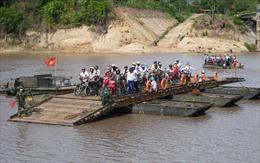 Tiềm ẩn nhiều nguy cơ tai nạn đường thủy ở huyện biên giới của Gia Lai