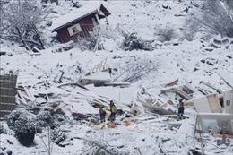 Na Uy nỗ lực tìm kiếm những người mất tích trong vụ sạt lở đất