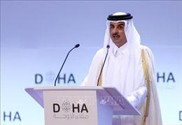 Quốc vương Qatar lần đầu thăm Saudi Arabia kể từ khi nổ ra khủng hoảng