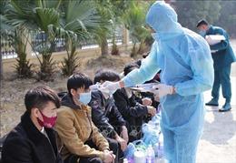 Cửa khẩu Ma Lù Thàng tăng cường kiểm soát dịch COVID-19