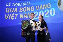 Văn Quyết và Huỳnh Như giành Quả bóng Vàng Việt Nam 2020