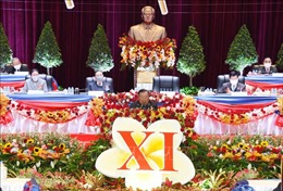 Lào tiếp tục phát triển KT-XH theo hướng có chất lượng, trọng tâm, xanh và bền vững