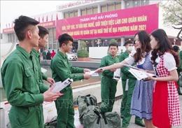 Tư vấn, giới thiệu việc làm cho quân nhân hoàn thành nghĩa vụ quân sự