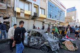 Đánh bom liều chết ở Baghdad khiến ít nhất 7 người thiệt mạng