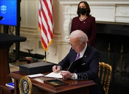 Tổng thống Biden ký 2 sắc lệnh cứu trợ kinh tế