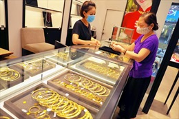 Giá vàng tăng 50.000 đồng/lượng