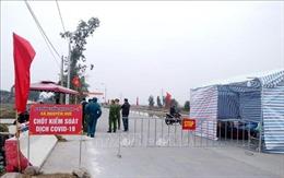 Điện Biên kích hoạt lại các chốt kiểm soát dịch trên hai tuyến quốc lộ trọng yếu